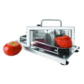 Coupe tomates et agrumes en rondelles inox