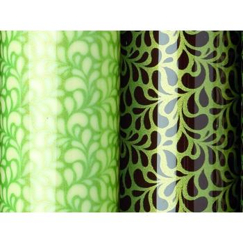 Feuille transfert - Vert scintillant