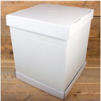 Cakebox Blanche  - 70 cm