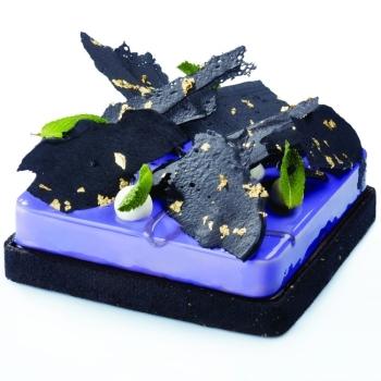 Carré en acier micro perforé - en collaboration avec Gianluca Fusto