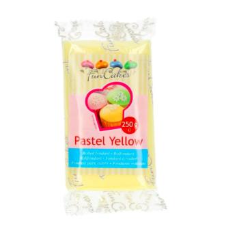 FunCakes Fondant Jaune Pastel Halal / Casher