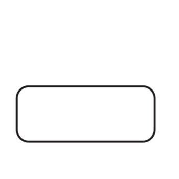 Etiquettes adhésives blanches - Boite distributrice de 500 étiquettes adhésives