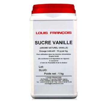 Sucre vanillé 10 % - 1 kg - Louis François