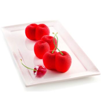 Moule en silicone - Rosso Ciliegia - 6x105 ml