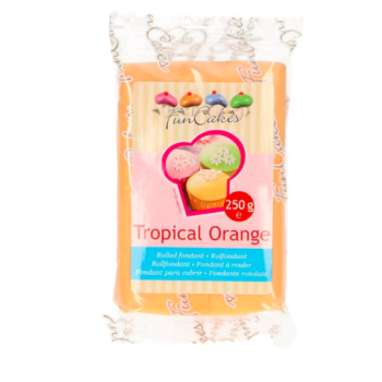 FunCakes Fondant - Orange Tropical Halal / Casher