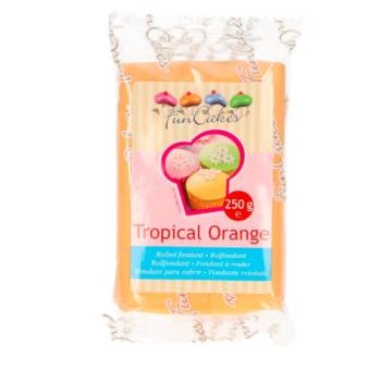 FunCakes Fondant - Orange Tropical Halal / Casher