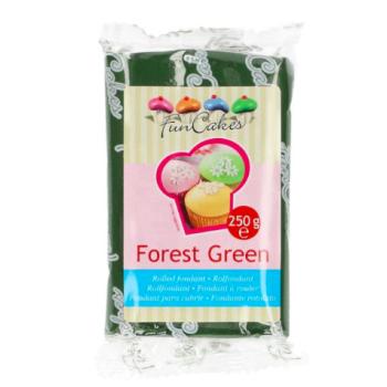 FunCakes Fondant - Vert Forêt Halal / Casher