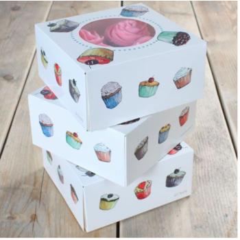 Funcakes - Boîtes à Cupacake x 3