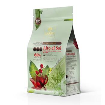 CHOCOLAT DE COUVERTURE ALTO EL SOL 65% - 1KG et 500 grammes