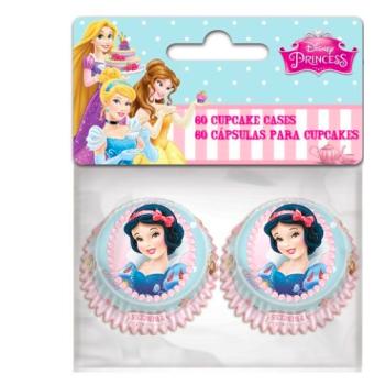 Caissettes pour mini Cupcakes - Princesses Disney