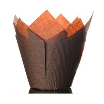 Caissettes à Cupcakes Marrons - 50 unités