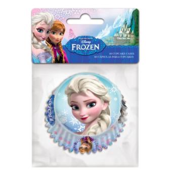 Caissettes pour mini Cupcakes - Reine des Neiges