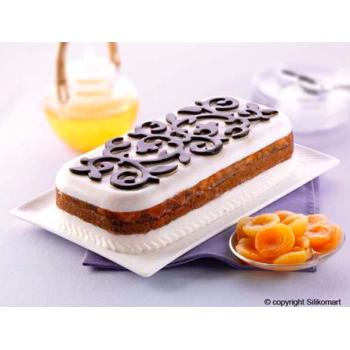 SFT308 - Moule souple en  silicone : Cake décoré