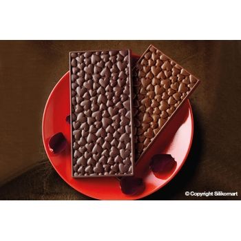 "plaque silicone pour chocolat ""easy choc"" - Love Choco Bar"