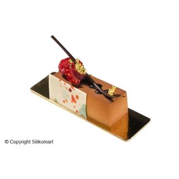 """SF026 - Moules silicone flexibles """"Silicon Flex"""": 12 mini cakes"""