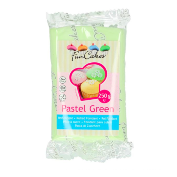 FunCakes Fondant - Vert Pastel Halal / Casher