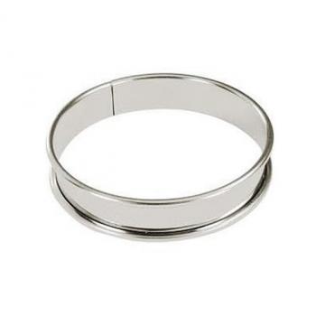 Cercle à tarte en fer blanc