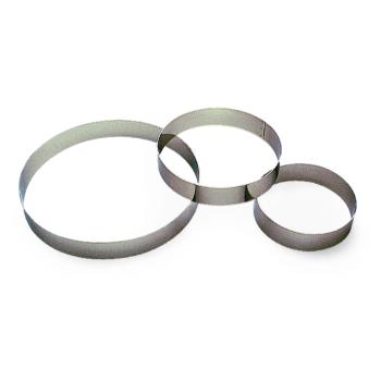 Cercle à entremet - H 3,5 cm