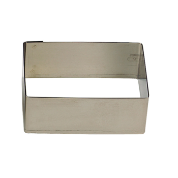 Nonnette Rectangle inox - Gobel