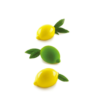 MOULE SILICONE - 4 Citrons  (LIMONE & LIME 120) - 4x120 ml