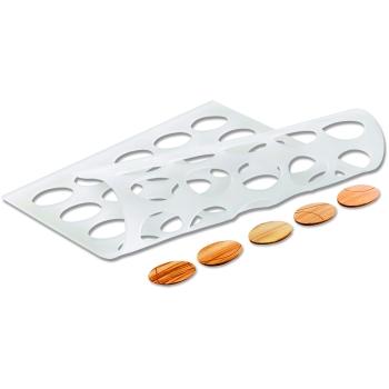 Moule en silicone - Chablon oval 34 x 24 mm
