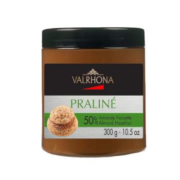 Praliné amande noisette 50% Valrhona - pot de 300gr -