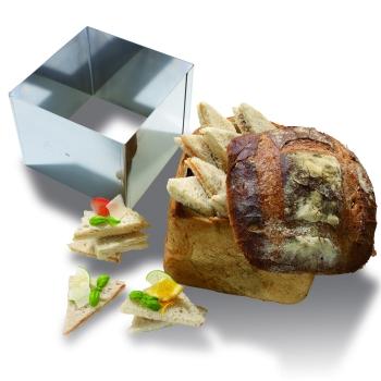 Carré à pain surprise - Acier inoxydable
