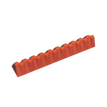 Gouttières à bûche plastique - Triangle décalée - paquet de 12