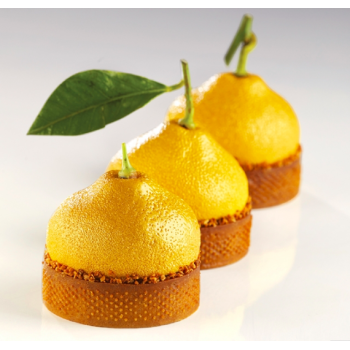 Moule Silicone Citron décoration tarte - Collaboration avec Cédric Grolet