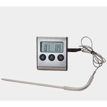 Thermomètre digital à sonde électronique - Fonction minuteur 100 minutes