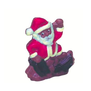 Moule polycarbonate pour chocolat 6 - Père Noël