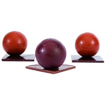Demi-Globe - 4 empreintes pour 2 globes - 4 + 4 g