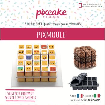 Moule silicone - Pixmoule - PIXCAKE