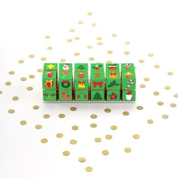Support à pixcakes - Bûche 12 cubes x 2