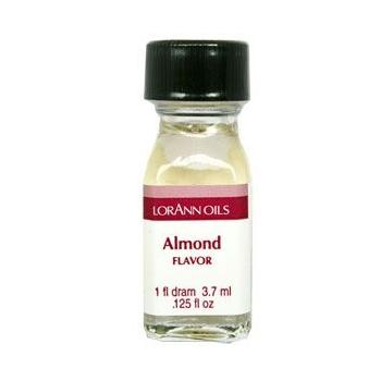 ARÔME AMANDE - LORANN SUPER STRENGTH FLAVOR - 3,7 ml - CASHER