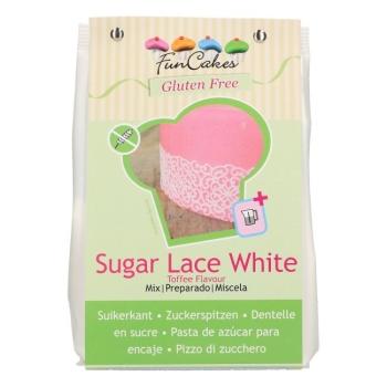 Mix pour Dentelle blanche sans gluten - 500gr - Funcakes - Halal