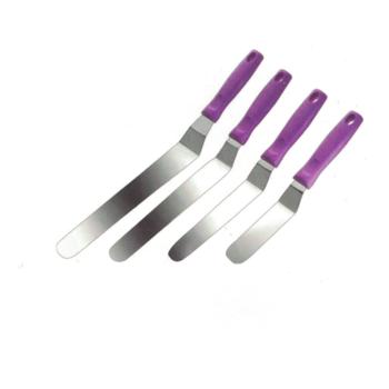 Spatule Coudée - Gamme manche violet - SANS Allergène