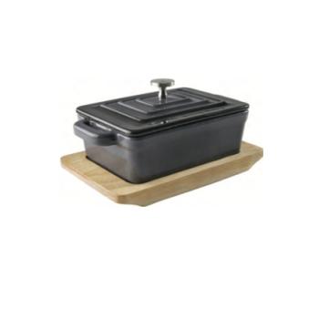 Mini Cocotte Rectangulaire - Fonte d'aluminium émaillée