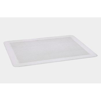 Plaque de cuisson perforée plate