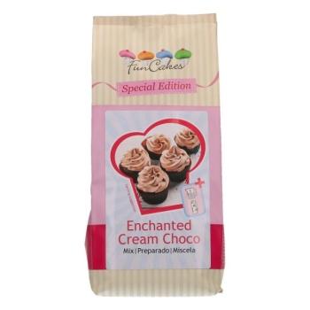Préparation pour crème enchantée au chocolat
