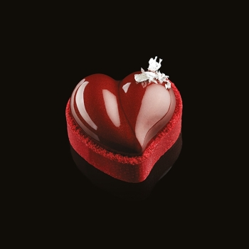 Moule Silicone Pavoflex - HEART - 8x46 ml - En collaboration avec Gianluca Fusto -