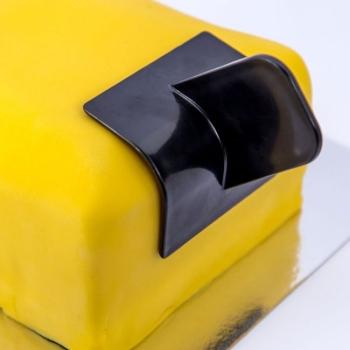 Lisseur à pâte à sucre - Bords ronds - Dekofee