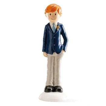 Décor figurine communion - Garçon