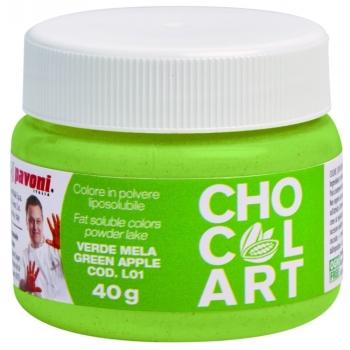 Colorant liposoluble Alimentaire  40g - Vert pomme - en collaboration avec Emmanuele Forcone