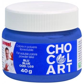 Colorant liposoluble Alimentaire  40g - Bleu - en collaboration avec Emmanuele Forcone