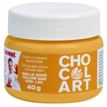 Colorant liposoluble Alimentaire  40g - Jaune Oeuf - en collaboration avec Emmanuele Forcone