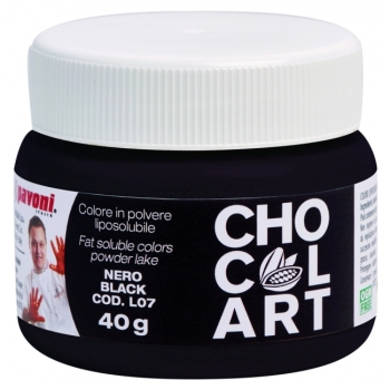 Colorant liposoluble Alimentaire 40g - Noir - en collaboration avec Emmanuele Forcone