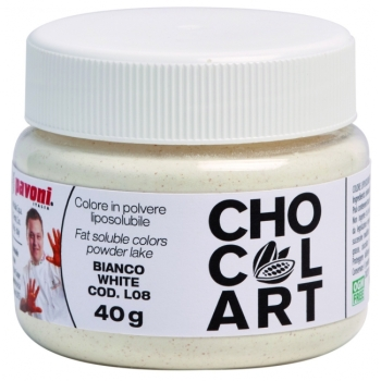 Colorant liposoluble Alimentaire 40g - Blanc - en collaboration avec Emmanuele Forcone