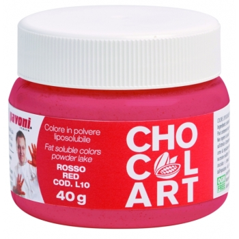 Colorant liposoluble Alimentaire 40g - Rouge - en collaboration avec Emmanuele Forcone