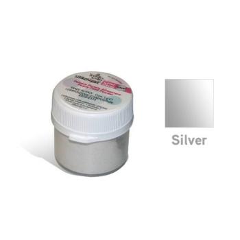 Poudre alimentaire SILIKOMART - Argent - 5gr